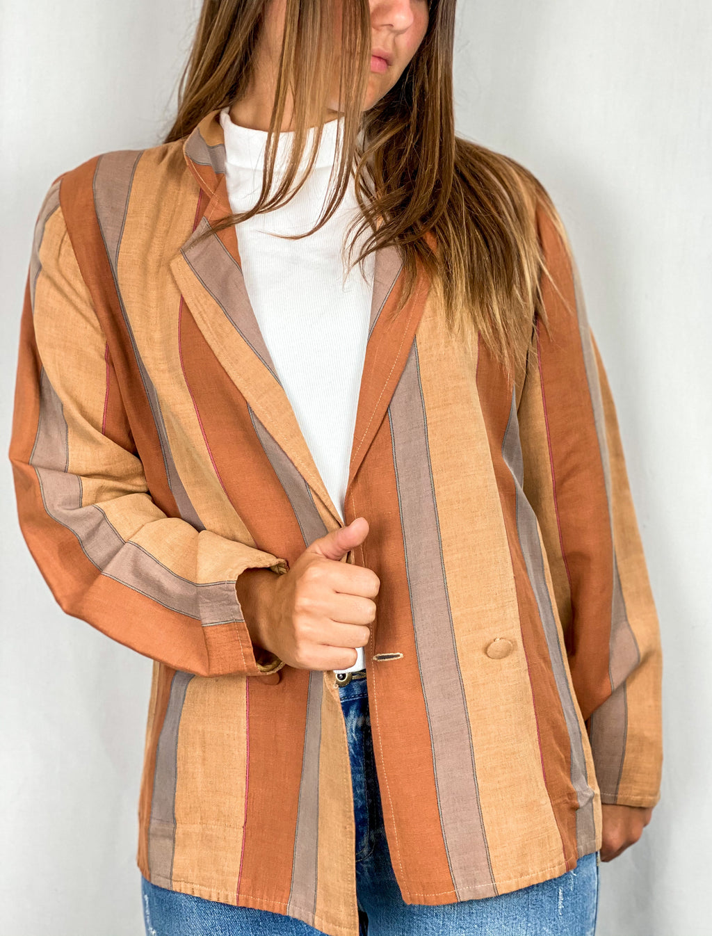 Thalia Striped Blazer