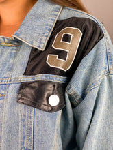 Load image into Gallery viewer, Drew Brees New Orleans Saints Denim Jersey Jacket