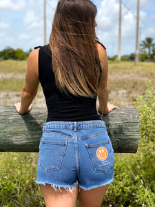 Be Kind To Your Mind Denim Shorts
