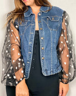 Load image into Gallery viewer, Make a Statement Denim Jacket