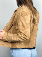 Load image into Gallery viewer, Natural Leather Tan Jacket