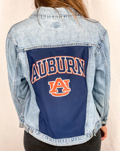 Load image into Gallery viewer, Auburn Tigers Denim Jacket