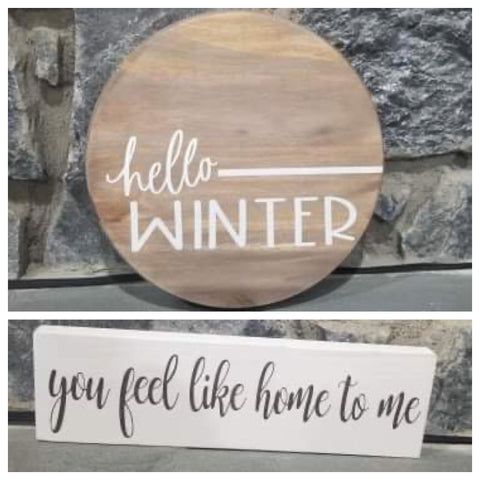 DIY Hello Winter Kit