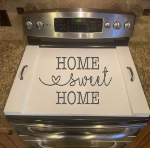 DIY Home Sweet Home Oven Cover