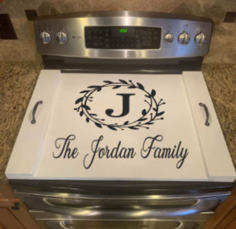 DIY Personalized Oven Cover