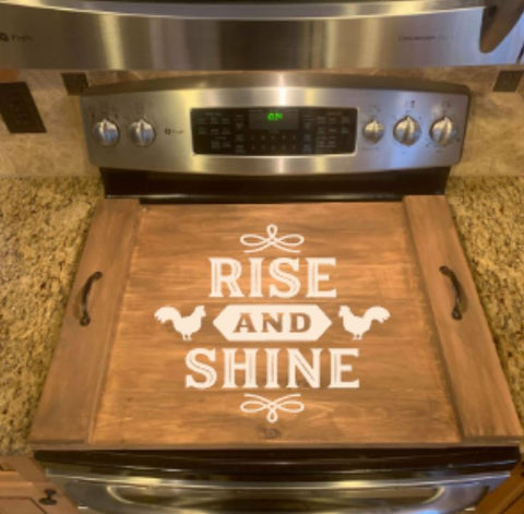 DIY Rise And Shine Oven Cover