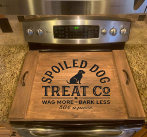 DIY Spoiled Dog Oven Cover