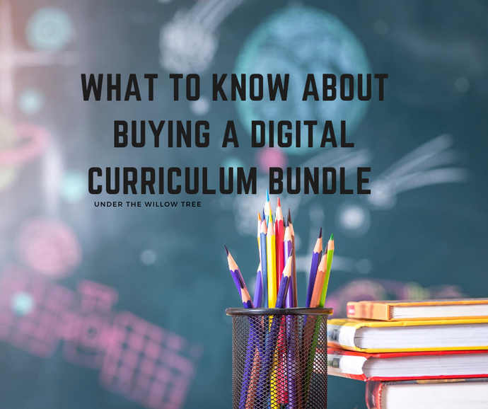 What to know about buying a digital curriculum bundle!