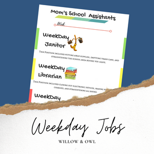 Weekday Jobs Poster
