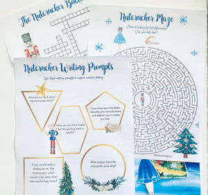 Nutcracker Activity Pack with Story Cards