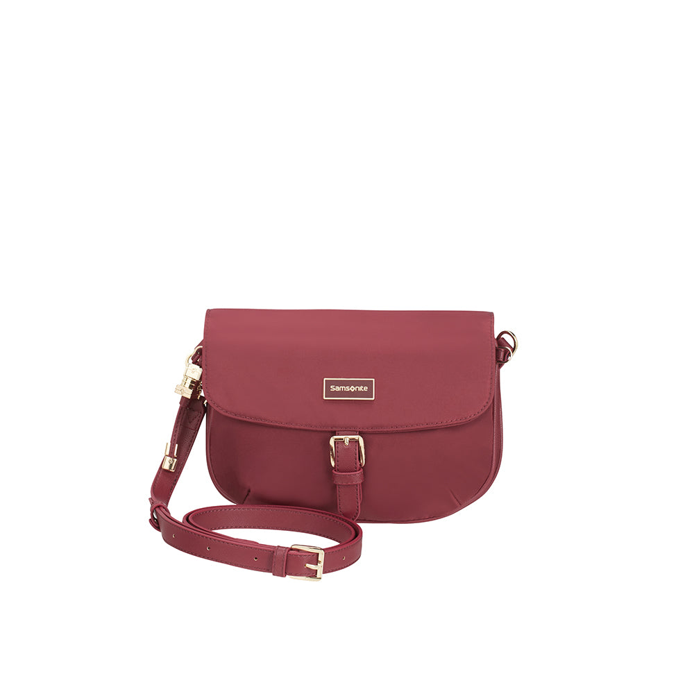 Cartera Karissa Round Messenger S Dark Bordeaux 6 Lts