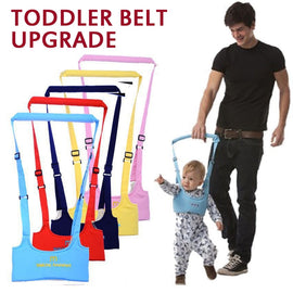 Baby Walker Toddler Harness Assistant Backpack Children Kids Walking Learning Belt Stand Up Leashes Strap