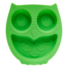 Load image into Gallery viewer, Green Owl Suction Divider Plate
