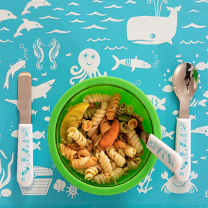 Under the Sea Utensil Set of 3 – Fork, Spoon and Knife
