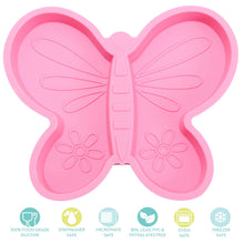 Load image into Gallery viewer, Silicone Butterfly Divider Plate
