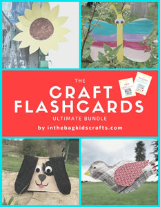 Craft Flashcards Printable Bundle 1