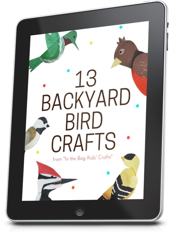 Backyard Bird Crafts eBook