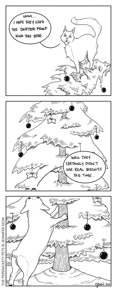 Persimmon Peak: The Persnickety Pets comic 12/13/20