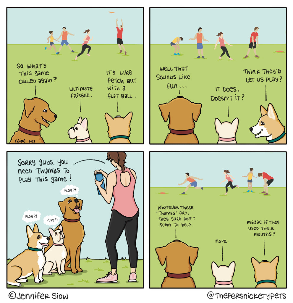 Persnickety Pets: The Persnickety Pets comic 3/7/21