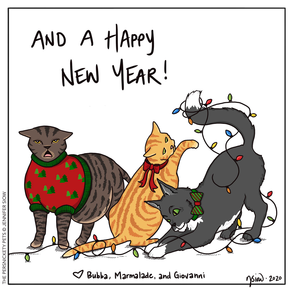 Persimmon Peak: The Persnickety Pets comic 12/25/20