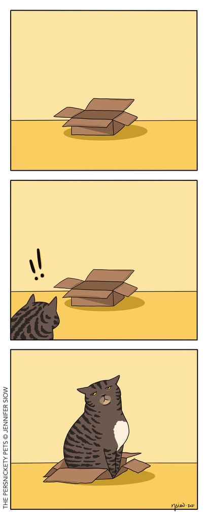 Persnickety Pets: The Persnickety Pets comic 1/10/21