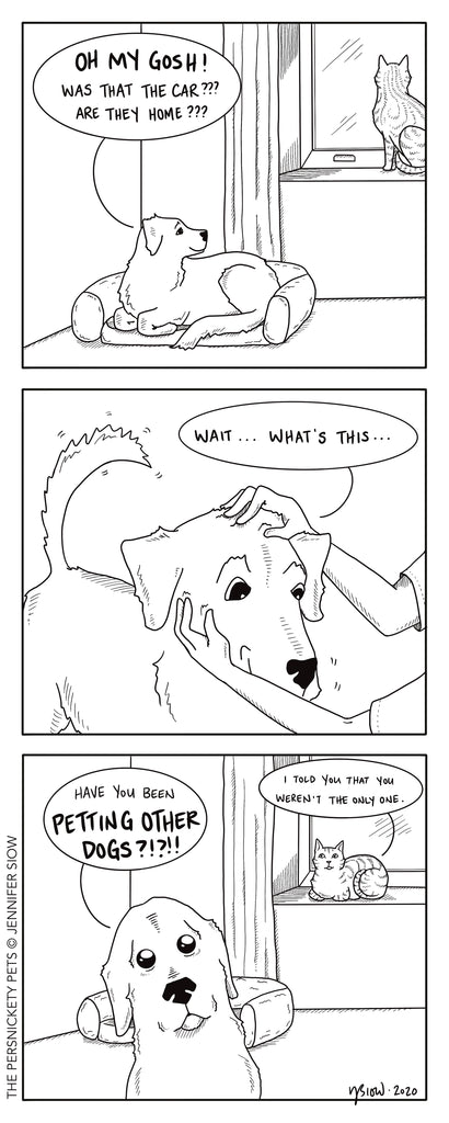 Persimmon Peak: the Persnickety Pets comic 10/25/20