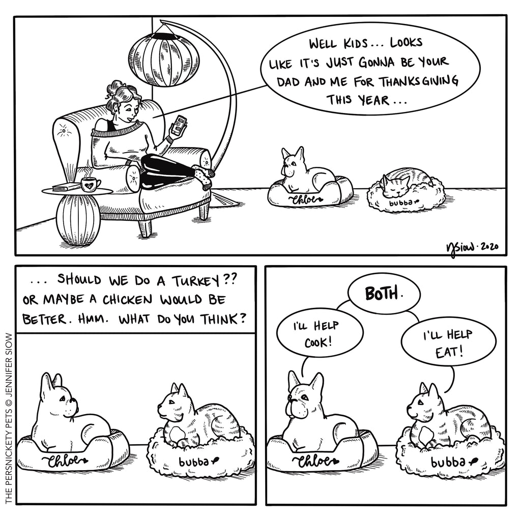 Persimmon Peak: The Persnickety Pets comic 11/15/20