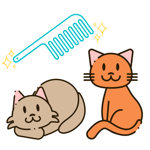 Persimmon Peak: Treat your cat to a brushing session