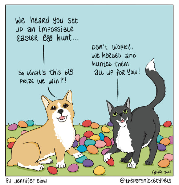 Persnickety Pets: The Persnickety Pets Comic 4/4/21