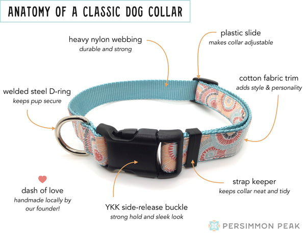 Persimmon Peak: anatomy of a classic dog collar