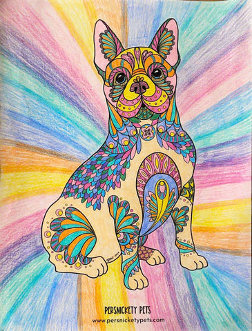 Persnickety Pets Coloring Contest winner: Zen art coloring page