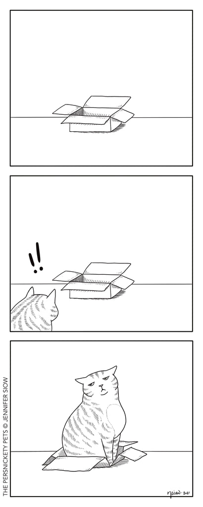 Persimmon Peak: the Persnickety Pets comic 1/10/21