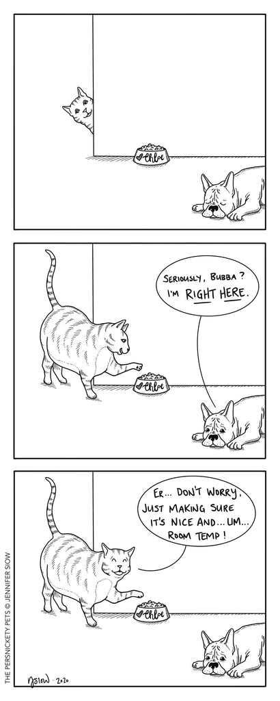Persimmon Peak: The Persnickety Pets comic 10/4/20
