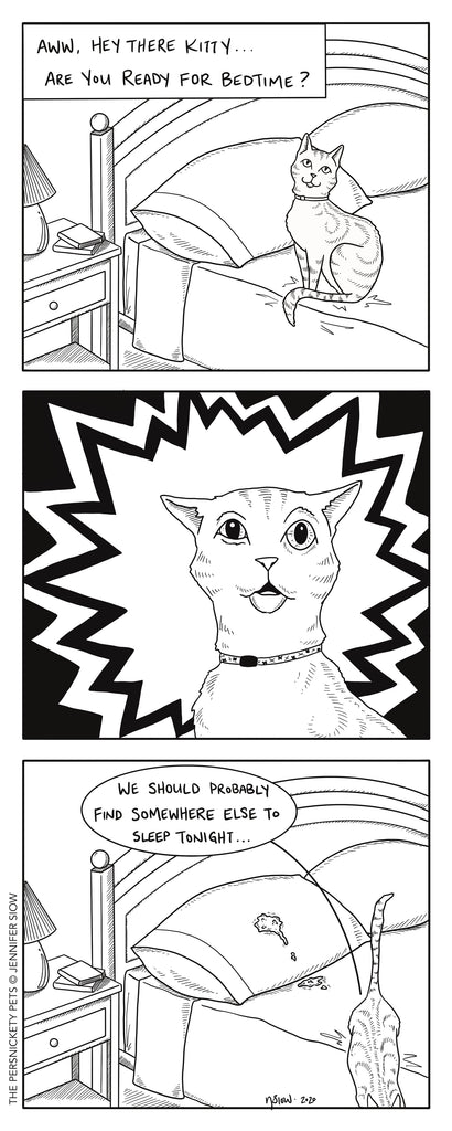 Persimmon Peak: The Persnickety Pets comic 9/27/20