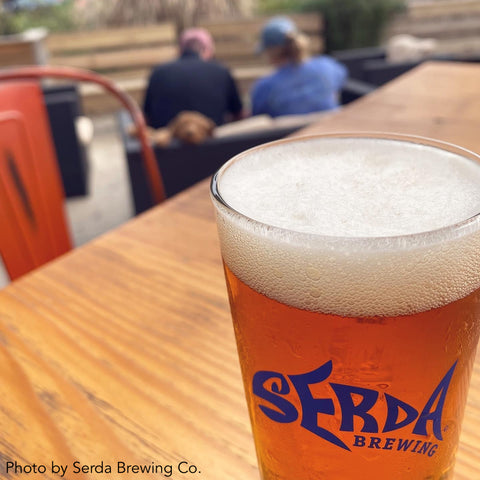Persimmon Peak: Take your dog to Serda Brewing in Mobile, AL
