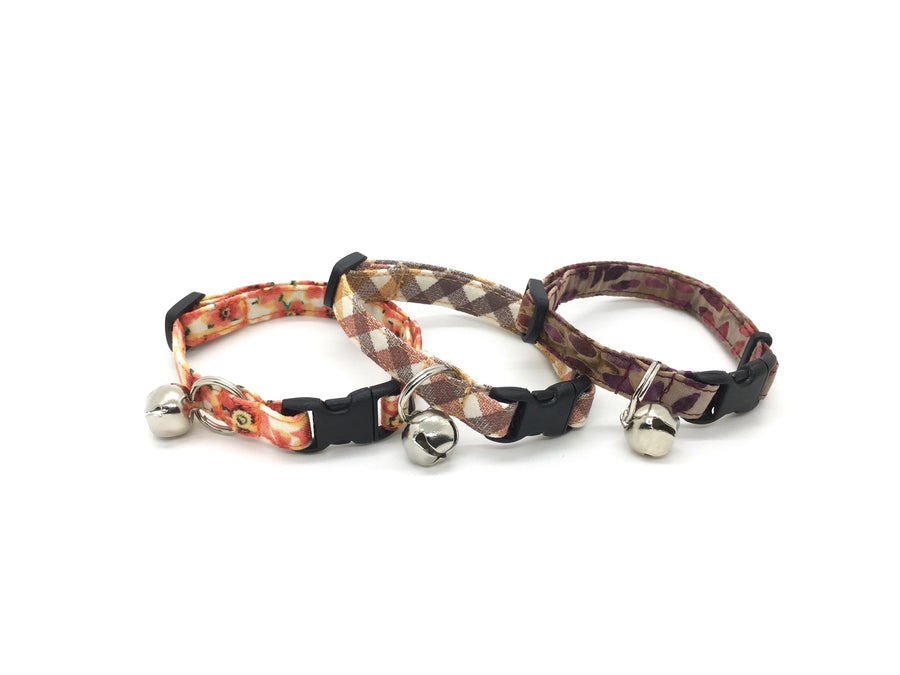 Persimmon Peak: harPersimmon Peak: oranges and rusts breakaway cat collars