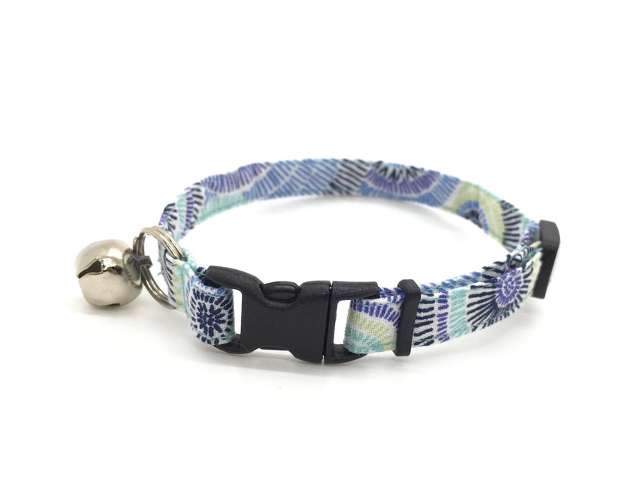 Persimmon Peak: seaspray breakaway cat collar