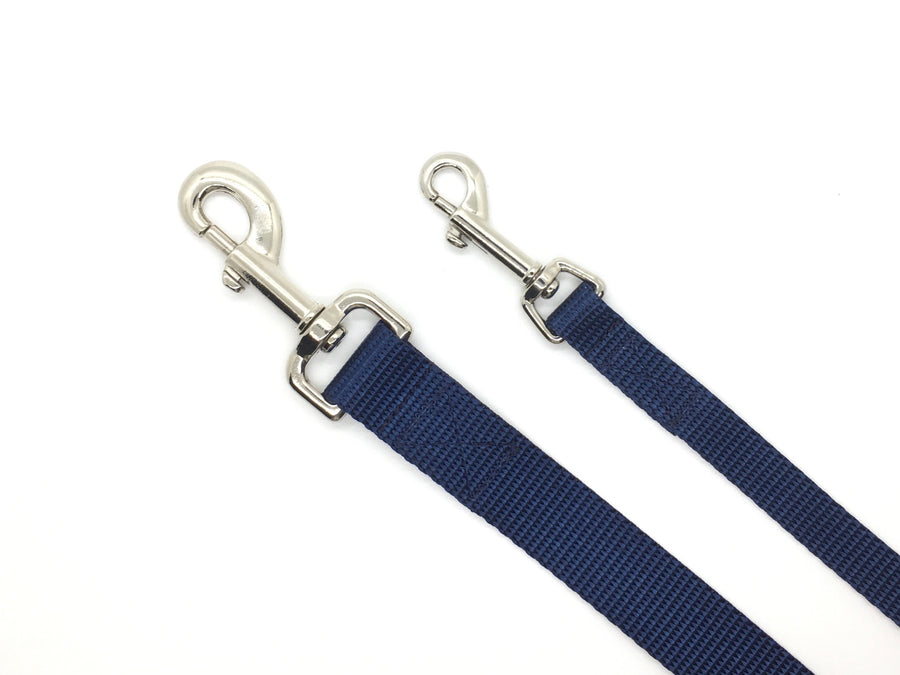 Persimmon Peak: midnight dog leash, 2 sizes