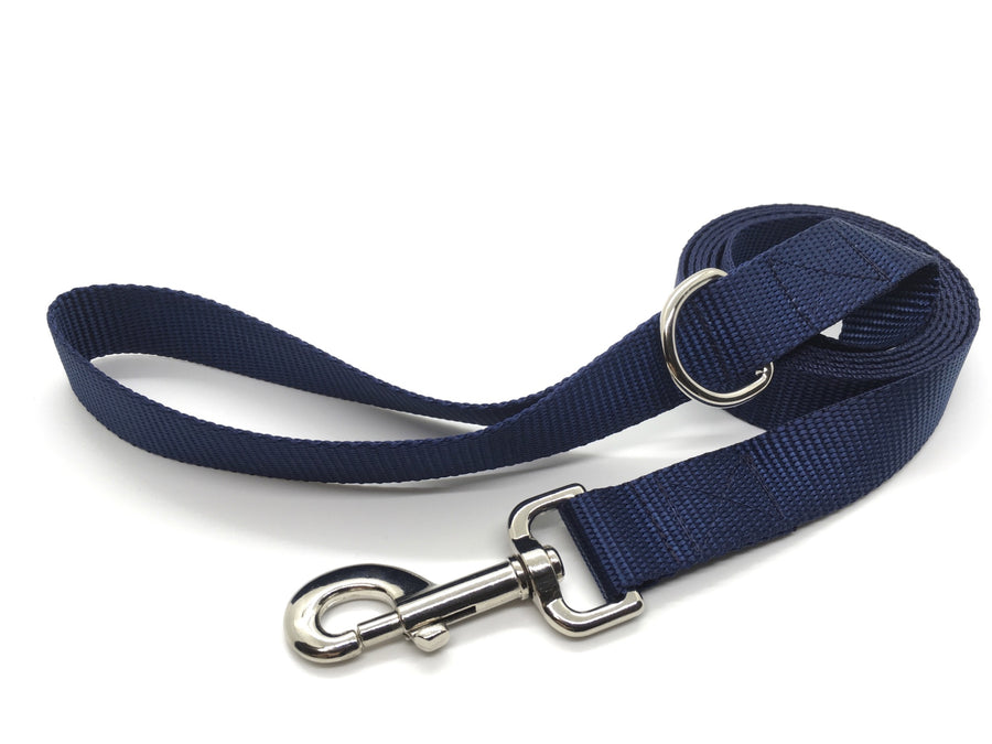 Persimmon Peak: midnight dog leash, wide
