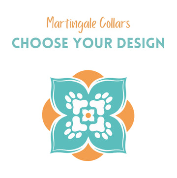 Persnickety Pets: Martingale Dog Collar - choose your own design