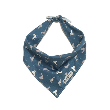 Persimmon Peak: Seals & Sea Otters reversible bandana