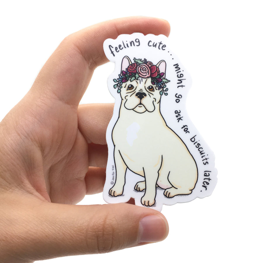Persnickety Pets: The Persnickety Pets - Chloe sticker