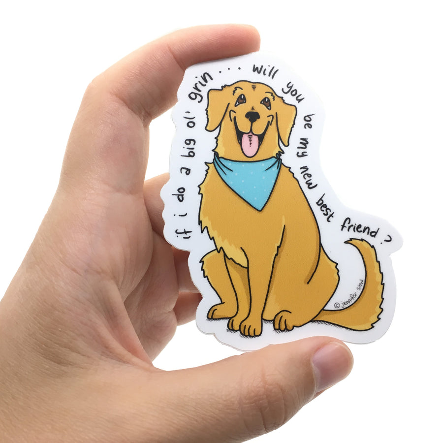 Persimmon Peak: The Persnickety Pets - Skipper sticker