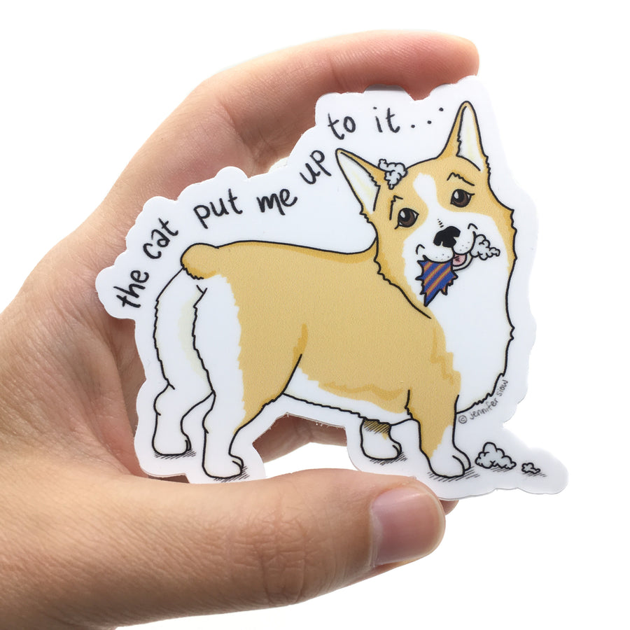 Persnickety Pets: The Persnickety Pets - Tucker sticker