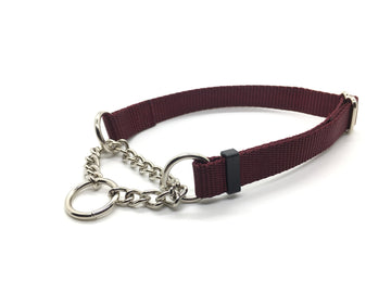 Persimmon Peak: merlot training collar, single