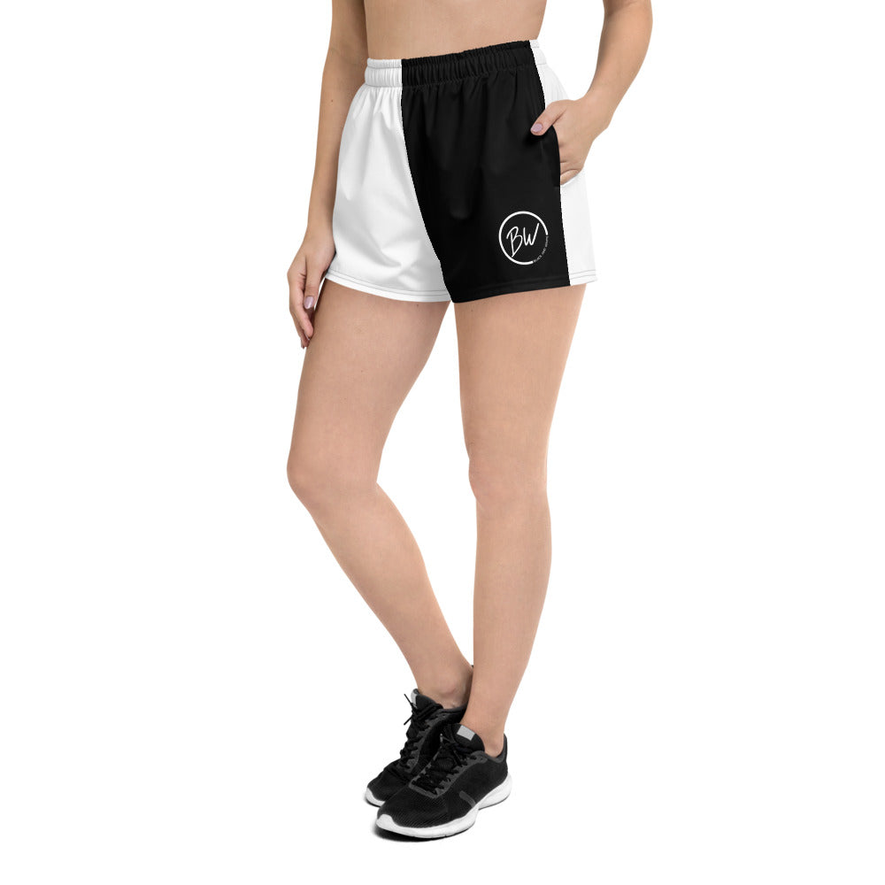 B&W Reverse Shorts Women