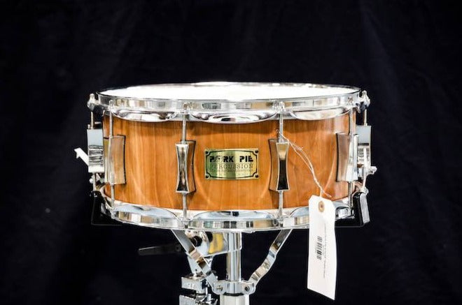 "USED Pork Pie USA 6.5x14"" Aged Maple Snare Drum"