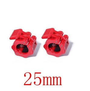 1 Pair 25mm Spin-Lock Barbell Collar Locks