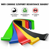5pcs/set Workout Resistance Bands For Yoga