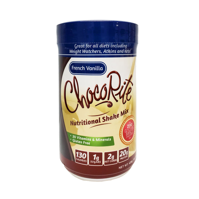 ChocoRite Protein Shake Mix French Vanilla